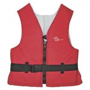 Fit & Float Kelluntaliivi 70-90kg Iso-50n Punainen