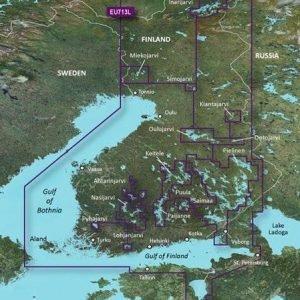 Garmin Bluechart G2 Vision Veu713l Suomi Järvi- Ja Merialueet Kartta