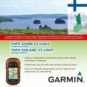 Garmin Topo Suomi V3 Light Pohjois-Suomi Kartta