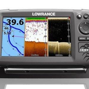 Lowrance Hook-7 Yhdistelmälaite