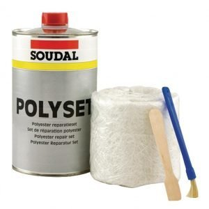 Soudal Polyset 250 G Lasikuidun Korjaussarja