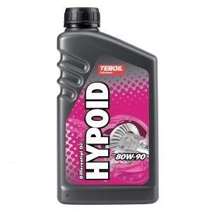 Teboil Hypoid 80w-90 Vetopyörästö-Öljy 1 L