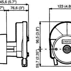 Ultraflex T-67 Ohjauspesä