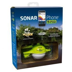 Vexilar Sonarphone Sp100 T-Pod Wifi Kannettava Kaikuluotain